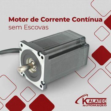 Motores BLDC (DC sem escovas) com potência de 660w