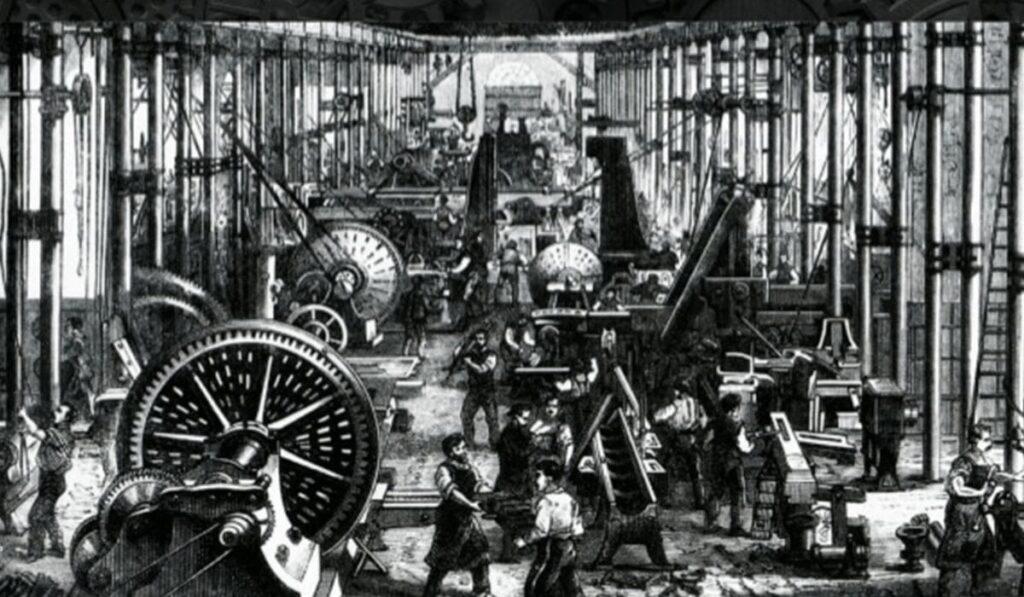 origem dos processos industriais automatizados