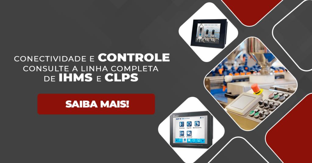 Consulte a linha completa de IHMs e CLPs
