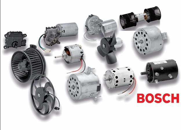 Motor DC Bosch 400W com redutor: Utilizado em Carros AVG e Empilhadeiras