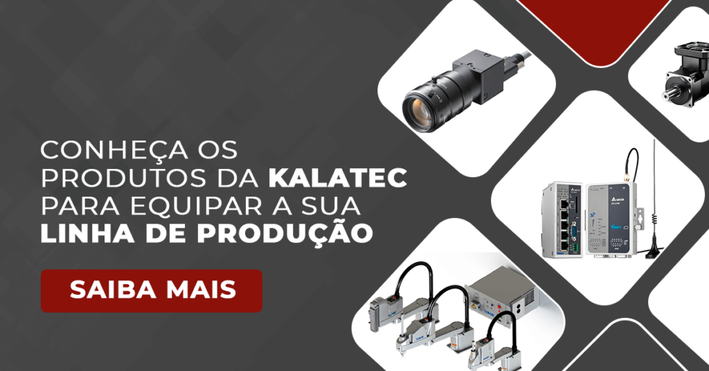 Produtos Kalatec para equipar linha de produção
